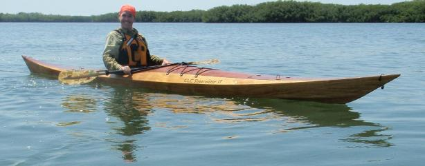 CLC Shearwater 17 an elegant West Greenland light touring kayak