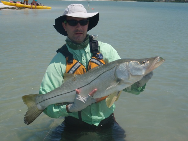 Jeff Fabiszewski Snook fishing Florida