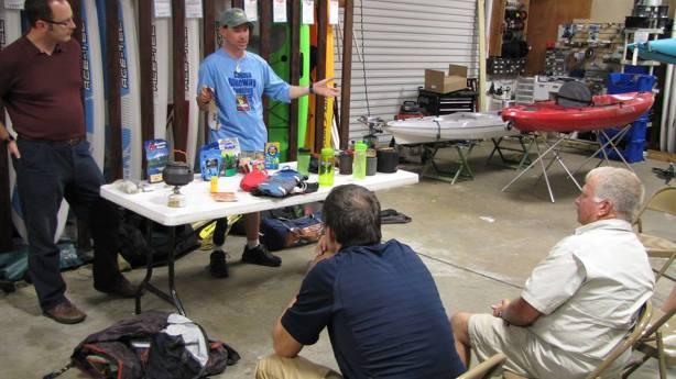 Osprey Bay Outdoors lecture Jeff Fabiszewski Sean Fitzgibbon