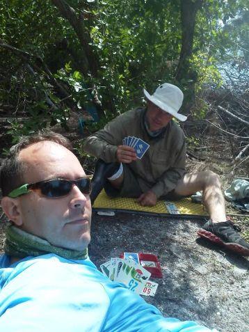 1000 bornes card game camping