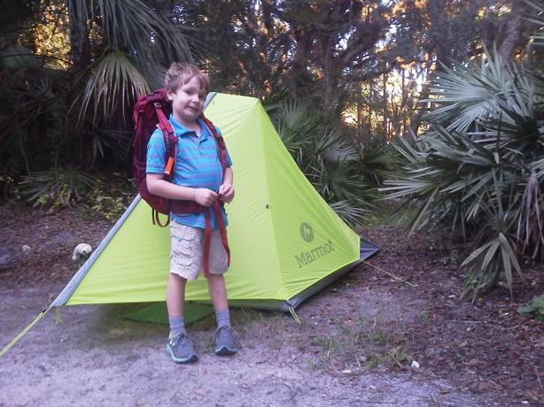 Nitro 2P Marmot tent